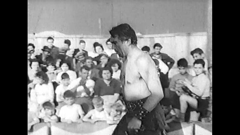 Они бродили по дорогам (Италия, 1954) Энтони Куинн, Джульетта Мазина, фильм Федерико Феллини, дубляж, прокатная копия СССР