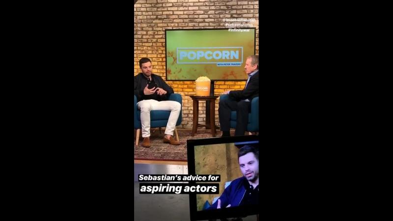 Шоу Popcorn with Peter Travers   3.05.18