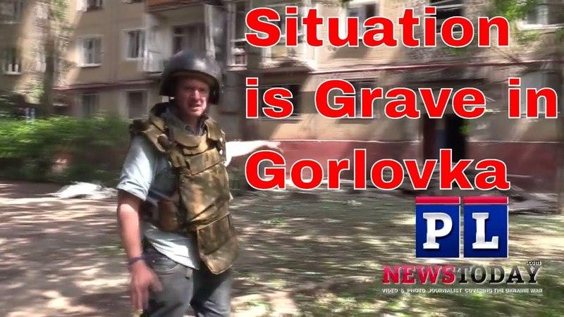 Artillery Attack on Gorlovka Injures 4 more civilians