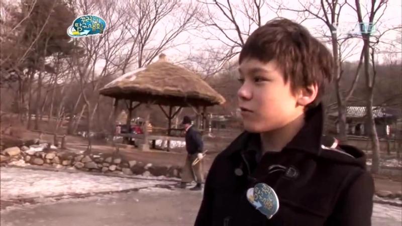 [세븐틴⁄버논] 100회, 104회 꾸러기 탐구생활 최한솔 (Vernon) - 쥐불놀이 체험