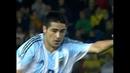 Inédito: el gol de Riquelme a Brasil con sonido ambiente