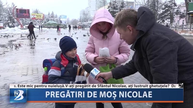 Pregătiri de Moș Nicolae