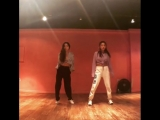 HoneyJ and Bora dancing to Hoody - 'Golden' (Feat. Jay Park)