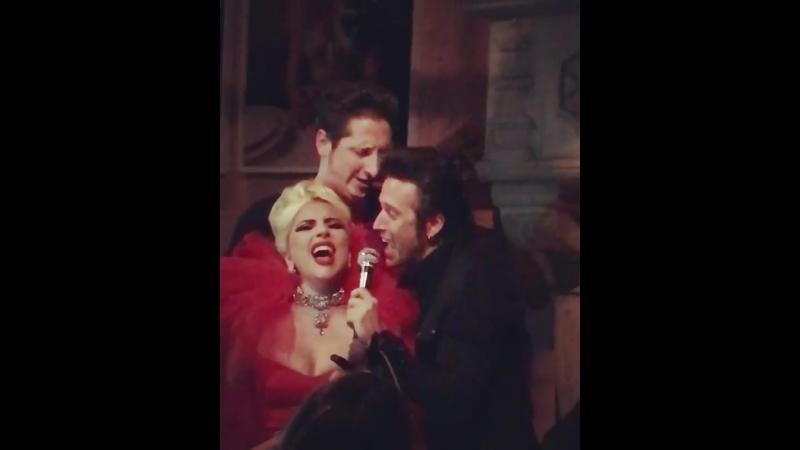 Lady Gaga Brian Newman Tommy London - I Aint Got Nobody (Live @ Rose Bar Нью-Йорк, США) (25.05.2018)