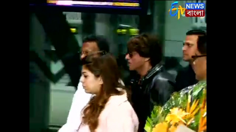 কলকাতায় শাহরুখ | Shahrukh Khan Reaches Kolkata For Film Festival | ETV NEWS BANGLA