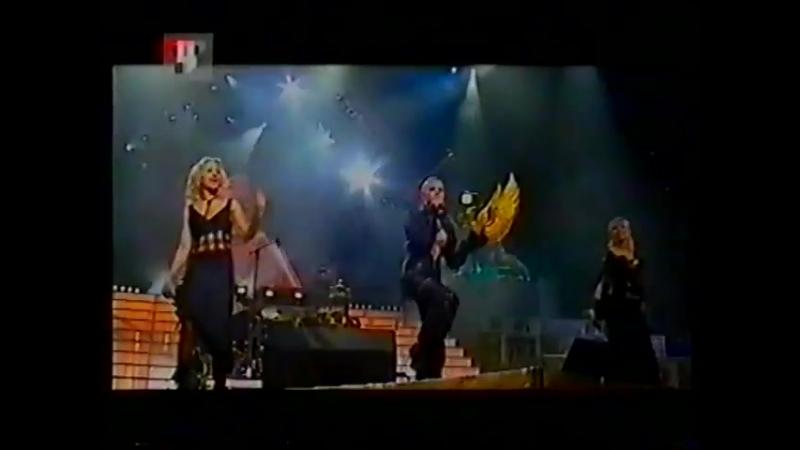 Блестящие - Чао, бамбина (Новый Год на ТВЦ 2002-2003)