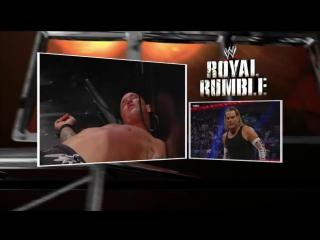 Randy Orton vs. Jeff Hardy Royal Rumble 2008