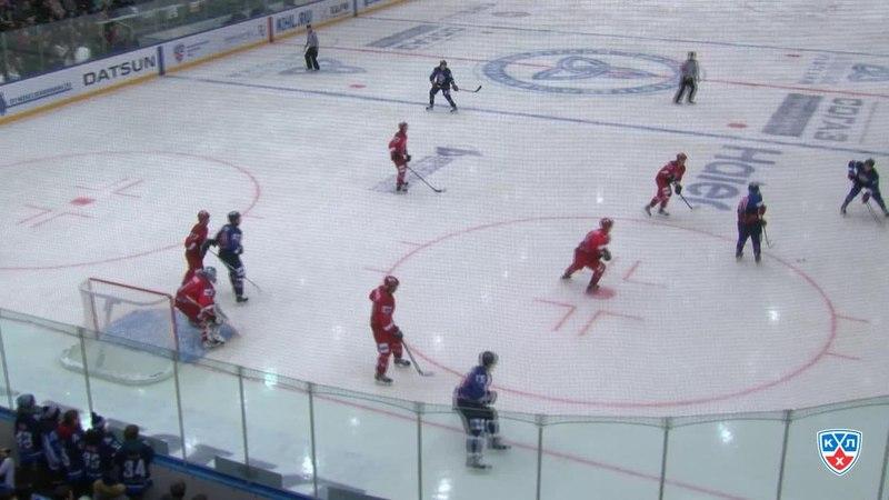 Моменты из матчей КХЛ сезона 14/15 • Лучшие моменты первого периода 13.02