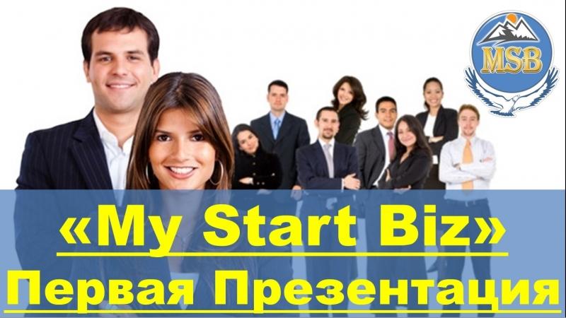 MyStartBiz - Первая ознакомительная презентация на предстарте Платформы