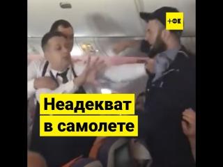 Авиадебошир на рейсе Москва — Тель-Авив
