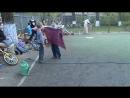 Вдохновение - Огненное жонглирование выступление в Заботе 17 мая 2017