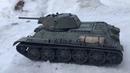 Танк Т-34/76 1942 СТЗ 116 Весь из Металла! Видео 5