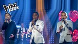 Chevy, Carlos Mario y Santiago cantan Bolero a Mi Madre La Voz Kids Colombia 2018