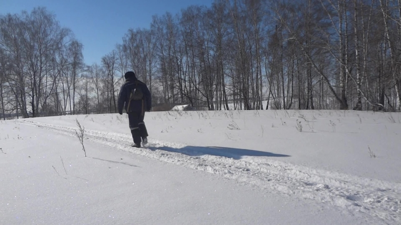 Малоснежная зима в Башкирии 2018