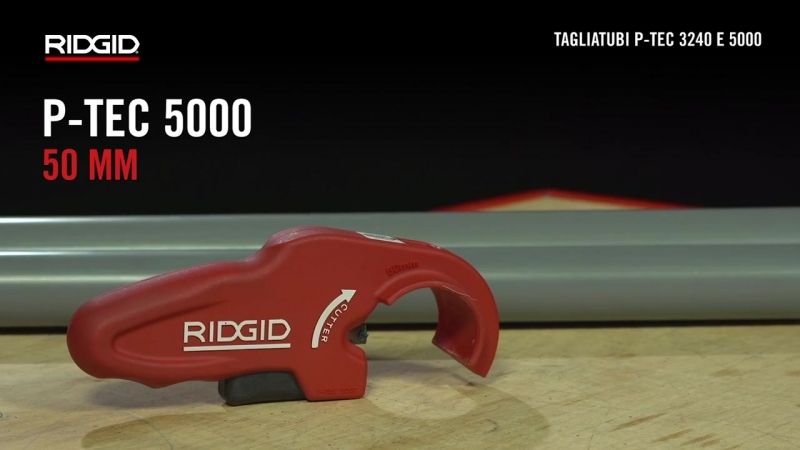 RIDGID Tagliatubi P-TEC 3240 e 5000