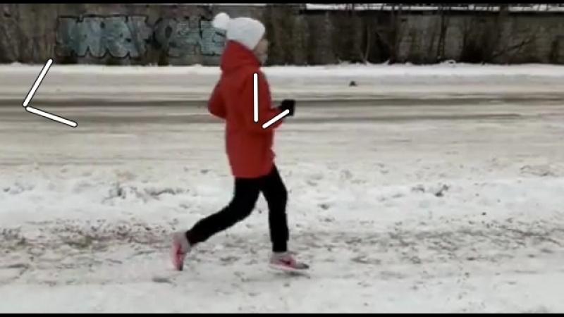 Видеоанализ техники бега Юлии Пономаренко