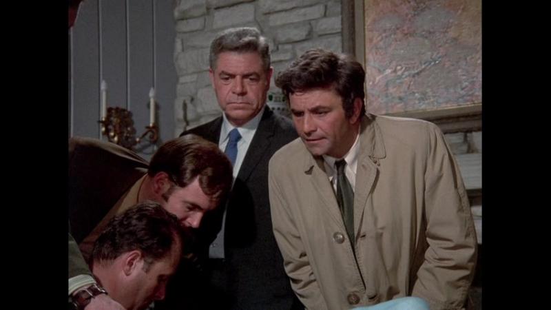 Коломбо 1 сезон 6 серия - Подходящие улики 1971 (Подходящий для рамки) (Suitable For Framing)