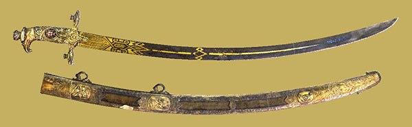 Традиции казачества . Атаманская сабля L684-3a-kAw