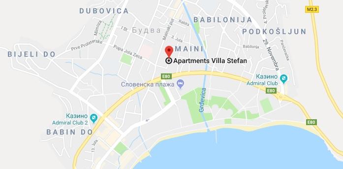 Aparments Villa Stefan в Будве