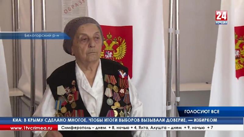 В Белогорском районе и Феодосии международные наблюдатели не увидели нарушений в процессе выборов