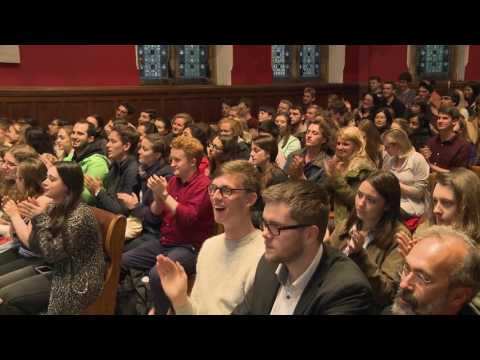 James Blunt Emotional Live Performance At OxfordUnion 2016 | Goodbye My Lover And You're Beautiful|