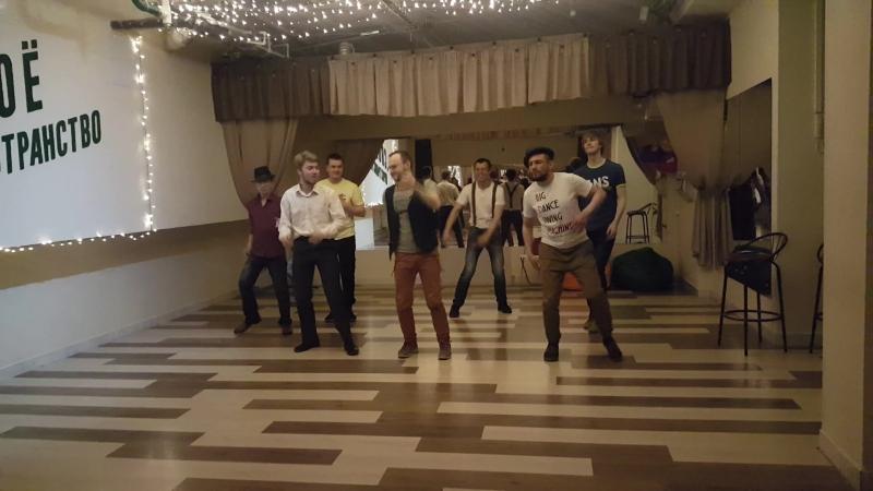 11.06.2018 Ребята и девчата жгут. Импровизация на линди-хоп вечеринке в Своем пространстве.