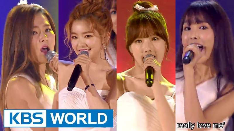 Irene Seulgi Yerin Yuju - I Dont Know What Love Is Yet [2015 KBS Song Festival 2016.01.23]