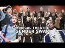 MUSICAL THEATRE GENDER SWAP ft Newsies Billy Elliot Les Mis Hamilton more Spirit YPC