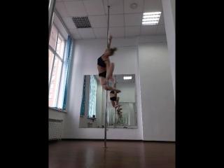 Наталья Андреева. Pole dance Новосибирск. Райская птица, Пегас