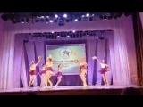 Выступление хореографической студии