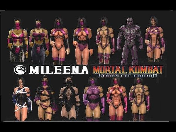 Mortal Kombat ALL MILEENA MK Costume Skin PC Mod MK9 Komplete Edition MKKE HD