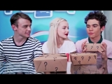 Disney Descendants Cast Do The Smell Challenge!!!.mp4