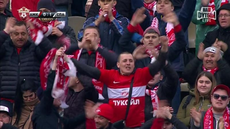 2018 Гол Сальваторе Боккетти в ворота пермского Амкара 2 0
