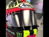 Шлем Маверика Виньялеса на домашний гран-при #video@motogpru