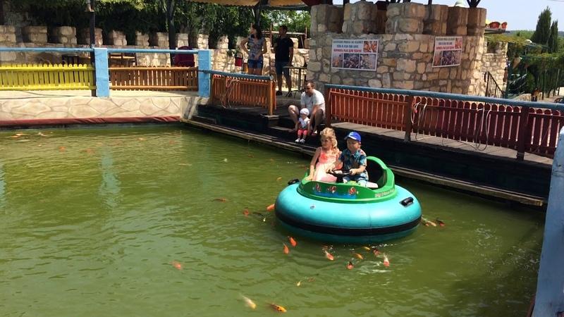 Хеппи Ленд, Болгария. Волшебное озеро. Kid's park HAPPY LAND, Bulgaria. Мagic lake. » Freewka.com - Смотреть онлайн в хорощем качестве