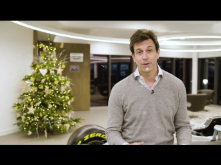 Toto Wolff says Merry Christmas!