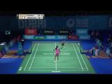 Dubai 2017 F WS: Akane Yamaguchi vs Pusarla V. Sindhu - бадминтон