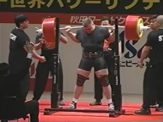 Жидрунас Савицкас - присед 410 кг