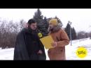"""Липчане поют песню """"Потолок ледяной"""" на улицах города"""