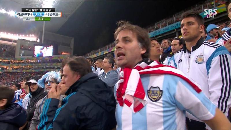 2014 브라질 월드컵 4강전 네덜란드 VS 아르헨티나 후반전 (2014 Brazil World Cup Netherlands VS Argentina 2nd Half)