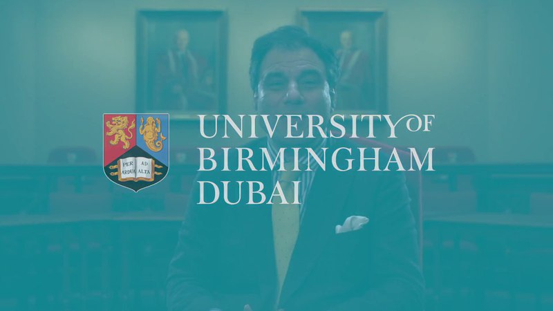 University of Birmingham Dubai - Lord Bilimoria - Chancellor Welcome
