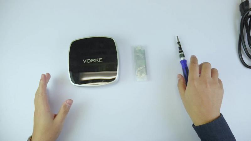 VORKE V5 PLUS распаковка, установка SSD, тест