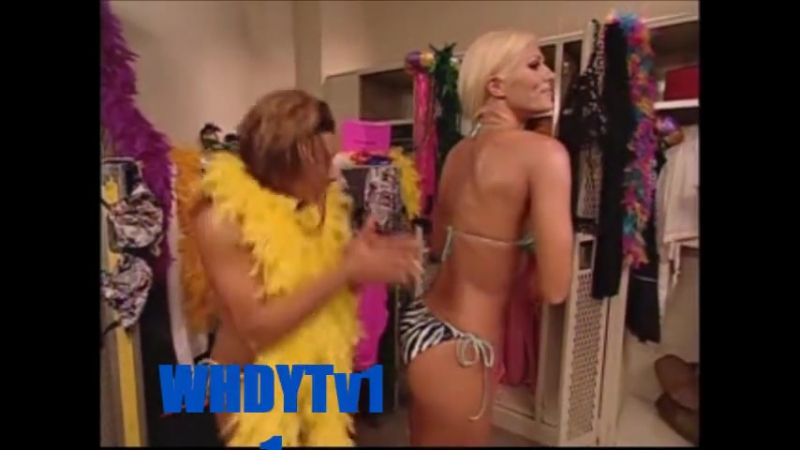 WWE Nidia and Torrie Wilson Hot Backstage Segment