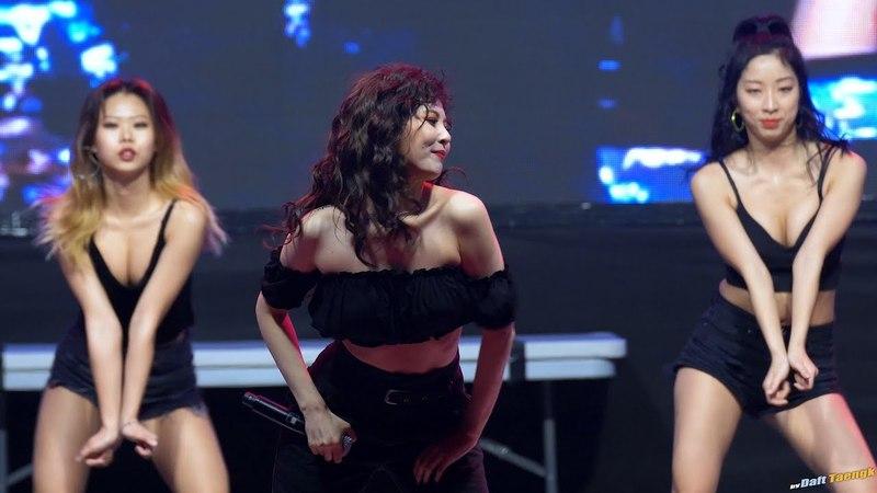 180523 현아 HyunA 'Bubble Pop!' @신한대 축제 4K 60P 직캠 by DaftTaengk