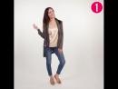 Одни любые джинсы много нарядов Советы по стилю