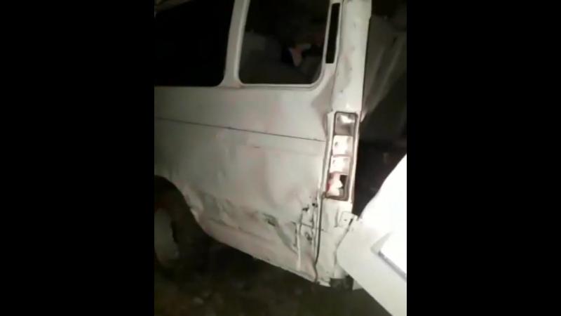 На астраханской трассе перевернулась «Газель» с пассажирами: пострадали 10 человек