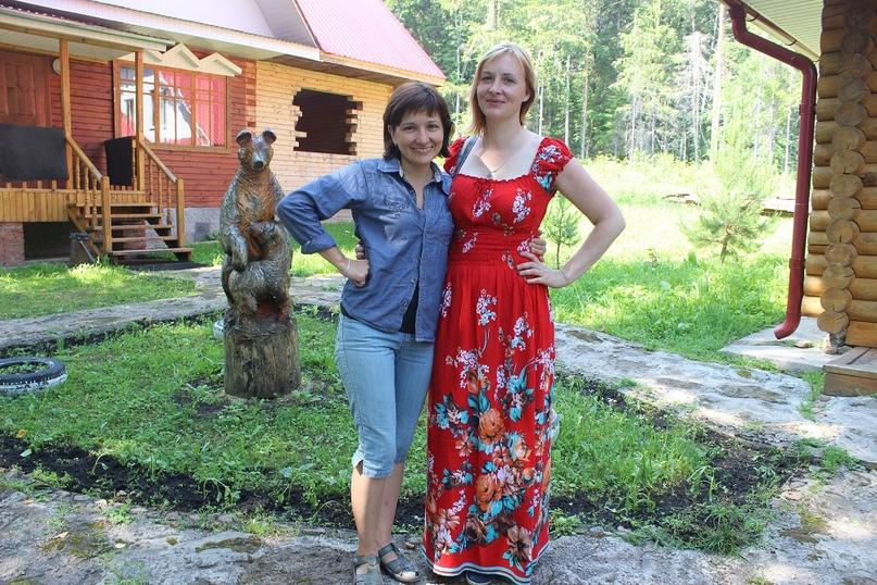 Наталья Наумова (справа) и Людмила Орлова (слева)