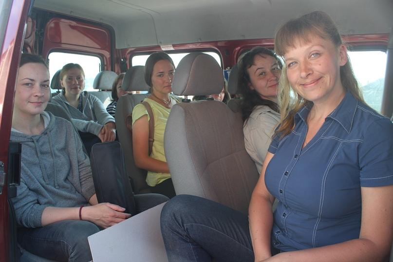 Художники отправляются в путь — на пленэр в село Татарская Еманзельга