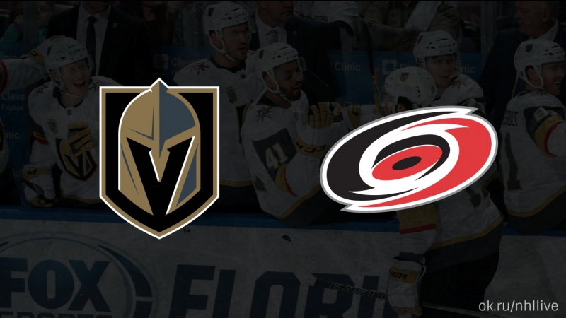 Vegas Golden Knights Carolina Hurricanes 22 01 2018