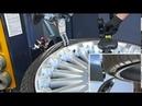 Шиномонтажный стенд S300 низкопрофильные шины часть 6